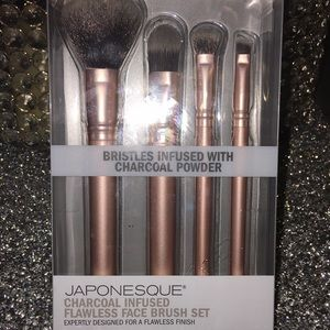 Japonesque charcoal infused flawless face brushes